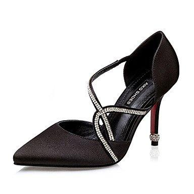 Moda Donna Sandali Sexy donna estate tacchi tacchi Casual di seta Stiletto Heel altri nero / rosa / argento / grigio / Fucsia Altri fuchsia