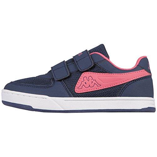 Light Navy Schuhe (Kappa Mädchen Trooper Light Sun Kids Sneaker, Blau (6727 Navy/l´Pink), 27 EU)