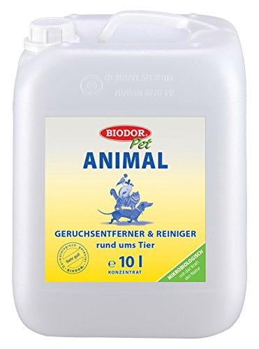 Biodor Animal Geruchsentferner | Bio-Reiniger Konzentrat natürlich und hygienisch | 10 l Kanister