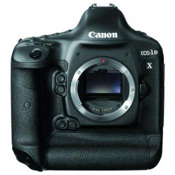 Canon EOS-1D X 18.1MP Full Frame CMOS Digital SLR Camera (Black)