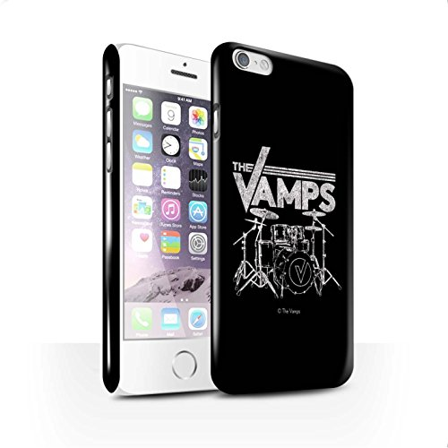 Offiziell The Vamps Hülle / Glanz Snap-On Case für Apple iPhone 6 / Pack 6pcs Muster / The Vamps Graffiti Band Logo Kollektion Schlagzeug