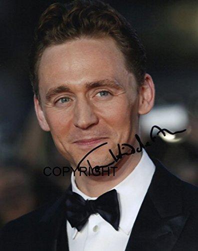 Limited Edition Tom Hiddleston unterzeichnet Foto Autogramm signiertsigniertes