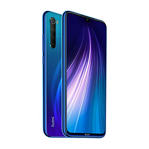 Xiaomi Redmi Note 8 RAM 4 Go ROM 64 Go Android 9.0 Versión Global Blue
