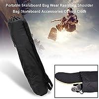 Cathy02Marshall Portable Skateboard Bag Oxford Cloth Fabric PVC Backpack Waterproof Carry Bag Wear Resistant Shoulder Bag Skateboard Accessories imaginative