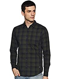 Wrangler Men's Slim fit Casual Shirt