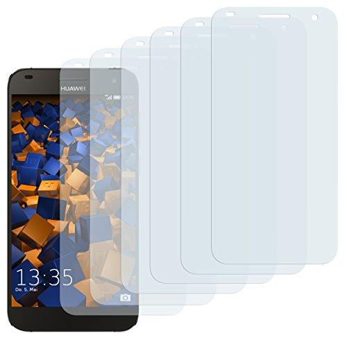 mumbi Schutzfolie kompatibel mit Huawei Ascend G7 Folie klar, Bildschirmschutzfolie (6x)