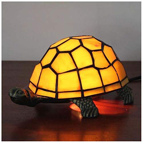 MISS YOU Lampada da tavolo europea retrò giallo tartaruga - bar/casa dei libri/vetrate ristorante