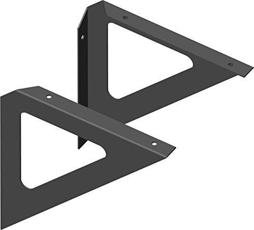 Element System 18133-00204 Triangel / Regalträger / 3 Farben / 2 Stück / schwarz