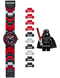 Lego Star Wars Darth Vader Kids Buildable Watch With Link Bracelet And Minifigure 8020301
