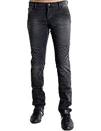 Japan Rags - Jean Japan Rags pour Homme - Coupe Slim - Noir - tailles : 34