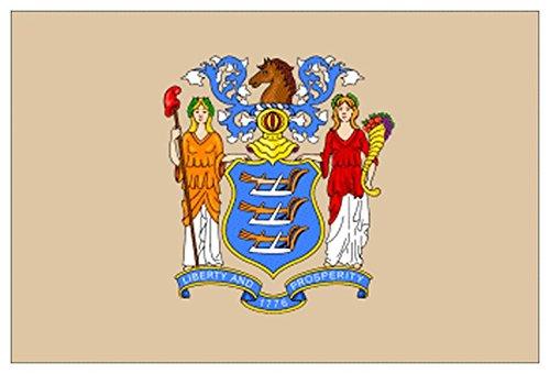 MIB - Stato New Jersey Deluxe, Misura: 100x150 - Italiano Jersey