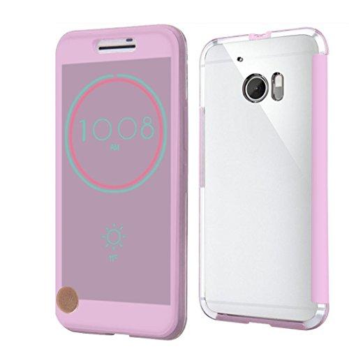 For HTC 10 Hülle , Ouneed Schlag intelligenter Fall Abdeckung für HTC 10 m10 (Lila)
