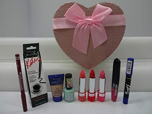 Rimmel London make up Gift Box regalo di San Valentino ~ 7PC Rimmel make up prodotti lotto + free Foundation