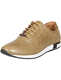 Duke Mens Beige Casual Shoes - B078KDK8D9