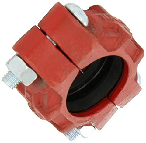 Dixon C12 Ductile Iron with EPDM Gasket Series S Pipe and Welding Fitting, Standard Coupling, 2 Size x 2-3/8 Pipe OD by Dixon Valve &