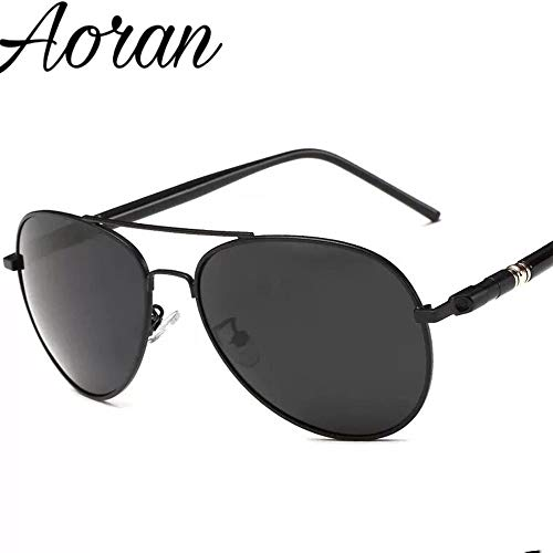 ZXYSSKT Polarisierte Sonnenbrille Classic Men es Sonnenbrille Driver Driving Sonnenbrille Spiegel,Gray