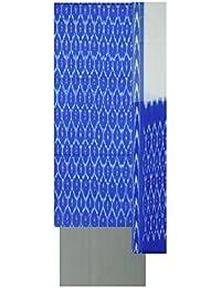 Bharathi Ikat Fabs Women's Cotton Unstitched Salwar Suit (Blue)