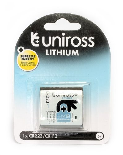 Uniross U0215534 Piles photo lithium jetables 1 x CR223 / CRP2 6 V