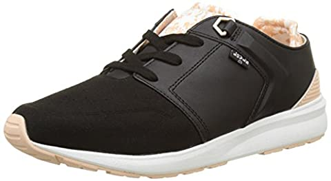 Levi's Damen Black Tab Runner Sneakers, Schwarz (Noir), 39 EU