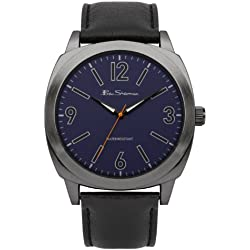 BEN SHERMAN Herren-Armbanduhr GENTS WATCH Analog Kunststoff Schwarz BS044