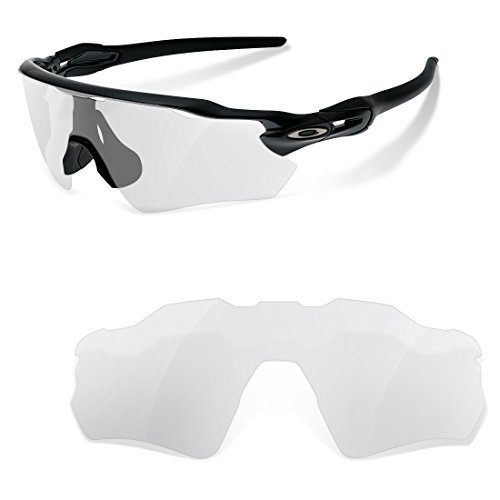 sunglasses restorer Kompatibel Ersatzgläser für Oakley Radar Path EV, Klar