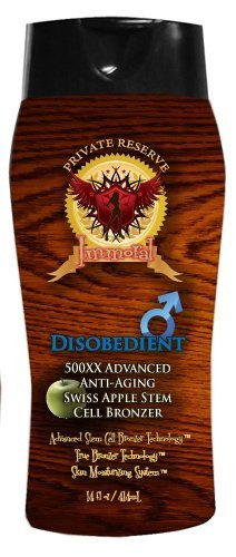 Disobedient for Men Tanning Lotion by Immoral Tanning Lotion