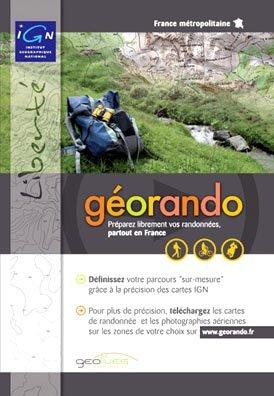 IGN Géorando liberté France DVD de préparation de randonnées