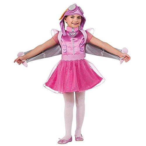 Kinder Kostüm Sky Paw Patrol - Rubie's Paw Patrol Kinder Kostüm Hunde