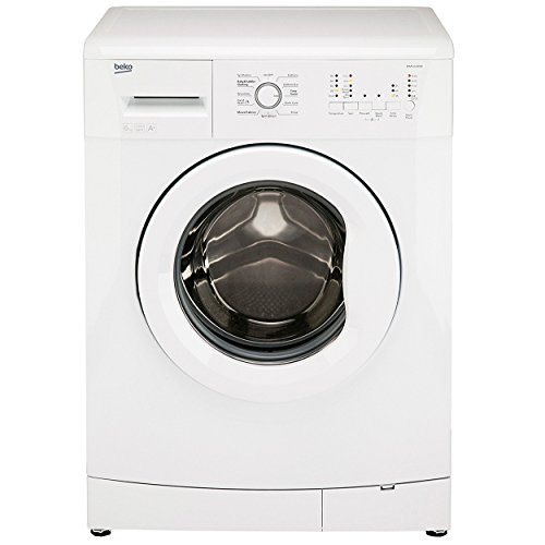Beko White Washing Machine, 6KG Load, with 1000rpm, WMS6100W,