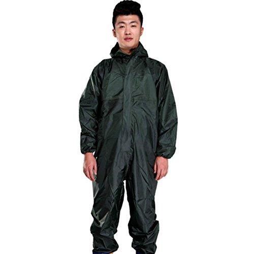 Männer Wasserdichte Overalls Mit Kapuze Regen Overalls Arbeitskleidung staubdicht Farbspray Männlich Regenmantel Arbeitskleidung Sicherheit Anzüge S-XXXL