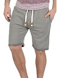 INDICODE Rion Herren Sweat-Shorts kurze Hose Sport-Shorts aus hochwertiger Baumwollmischung