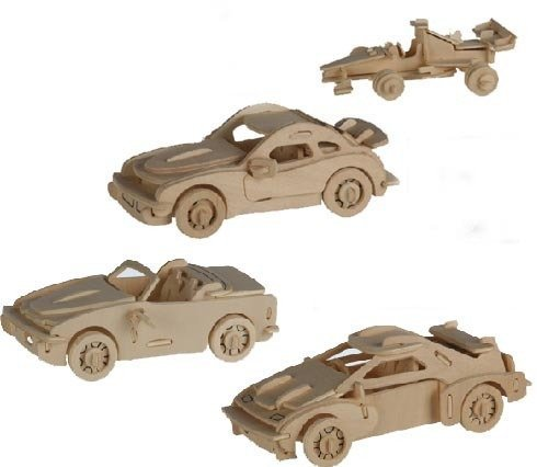 Cars Wooden Puzzle by Wooden Car Puzzle