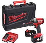 Milwaukee Batterie Compact, visseuse à percussion, 18V, 4Ah, 4933440531