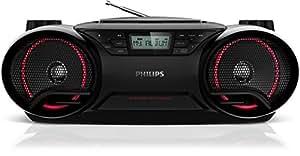 Philips AZ3831 Lecteur de CD/mp3/wma avec USB Tuner numérique 5 W Noir