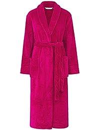 d31d99af23 Slenderella HC2302 Women s Raspberry Red Robe Long Sleeve Dressing Gown