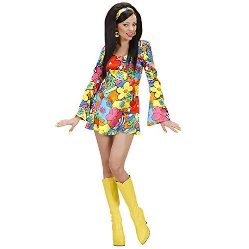 WIDMANN Widman - Disfraz de hippie años 60s para mujer, talla 36 (S/7
