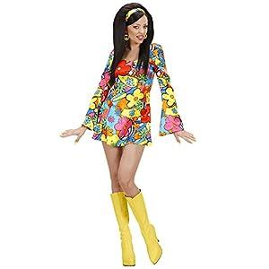 WIDMANN Widman - Disfraz de hippie años 60s para mujer, talla L (S/73953)