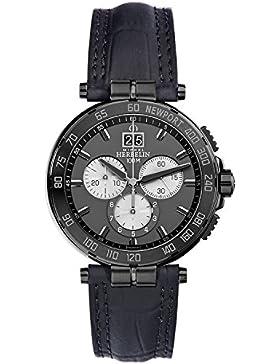 Michel Herbelin Unisex Erwachsene-Armbanduhr 36656/GN33