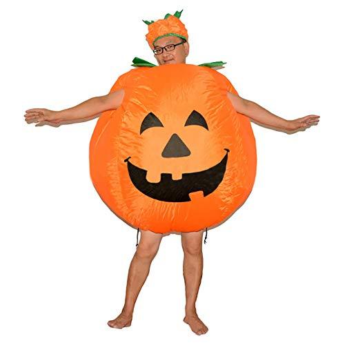 ShiyiUP Erwachsene aufblasbare Kürbis Kostüme für Halloween
