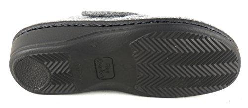 FinnComfort Clog Andermatt Lightgrey - Größe 38 Grau