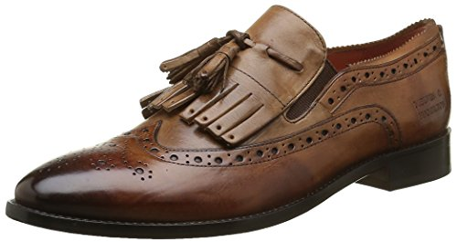 Melvin & HamiltonRoberta 10 - Mocassini Donna , Multicolore (Multicolore (Crust Tan Tortora Mid Brown Ls)), 40
