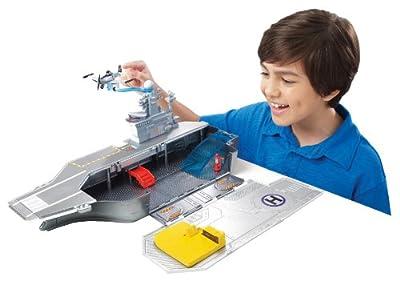 Mattel Y3155 Disney Planes Yorkie - Portaaviones de juguete (incluye un avión) por Mattel