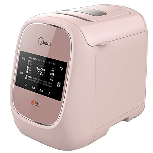 GCCI Multifuncional Inteligente Wifi Máquina de la Torta Máquina Automática de Pan de Hogar,Rosa oscuro