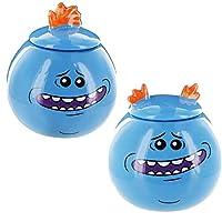 Rick and Morty Mr. Meeseeks Mini Mug/Jar Set of 2