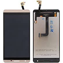 PREVOA ® 丨 Cubot X15 - New Touch Screen Digitizer + LCD Replacement Part - Complete Assembly FULLY TESTED para Cubot X15 Smartphone - Oro