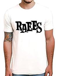 Ghantababajika Raees Round Neck Half Sleeves Printed Quotation T-shirt For Men`s