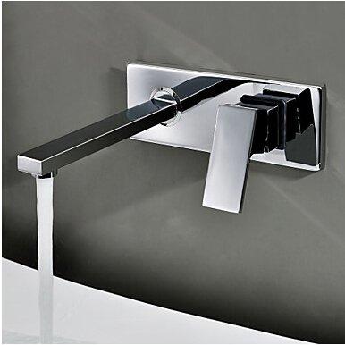 En la pared TougMoo Grifo lavabo empotrado set de tres piezas armario...