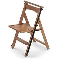 ARREDAMENTIITALIA Arredamenti Italia Silla escalera ELETTA, madera - plegable - 4 peldaños - Color: madera de cerezo Ar-It il cuore del legno
