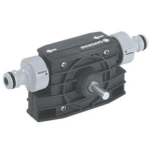 GARDENA Bohrmaschinenpumpe: Stabile Schlauchpumpe zum Um- und Auspumpen von Wasser, passend für jede Bohrmaschine, sofort betriebsbereit (1490-20)