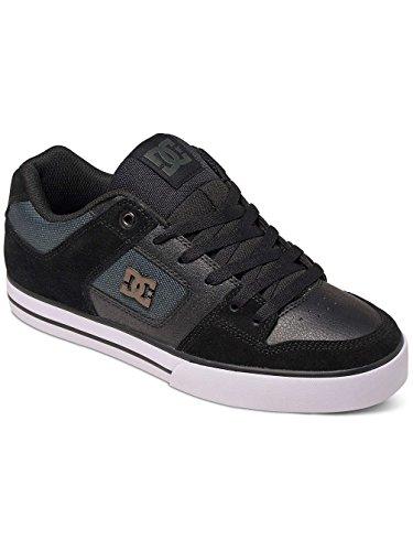 Dc Shoes Pure Se, Basse Uomo Noir / Gris Foncé